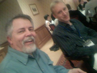 Doc Searls and Erik Stuart (EBay) | by scriptingnews