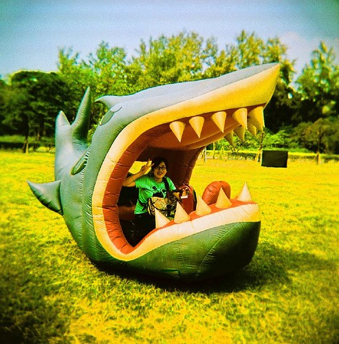 Wanna try riding the shark?! | by - ♥ Cherie ♥ -