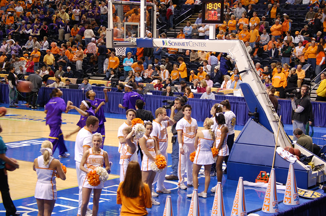 Lady Vols 2008 SEC Womens Basketball Cheerleaders | Lady ...