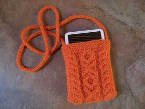 Aran Ipod Carrier | by spunsilver