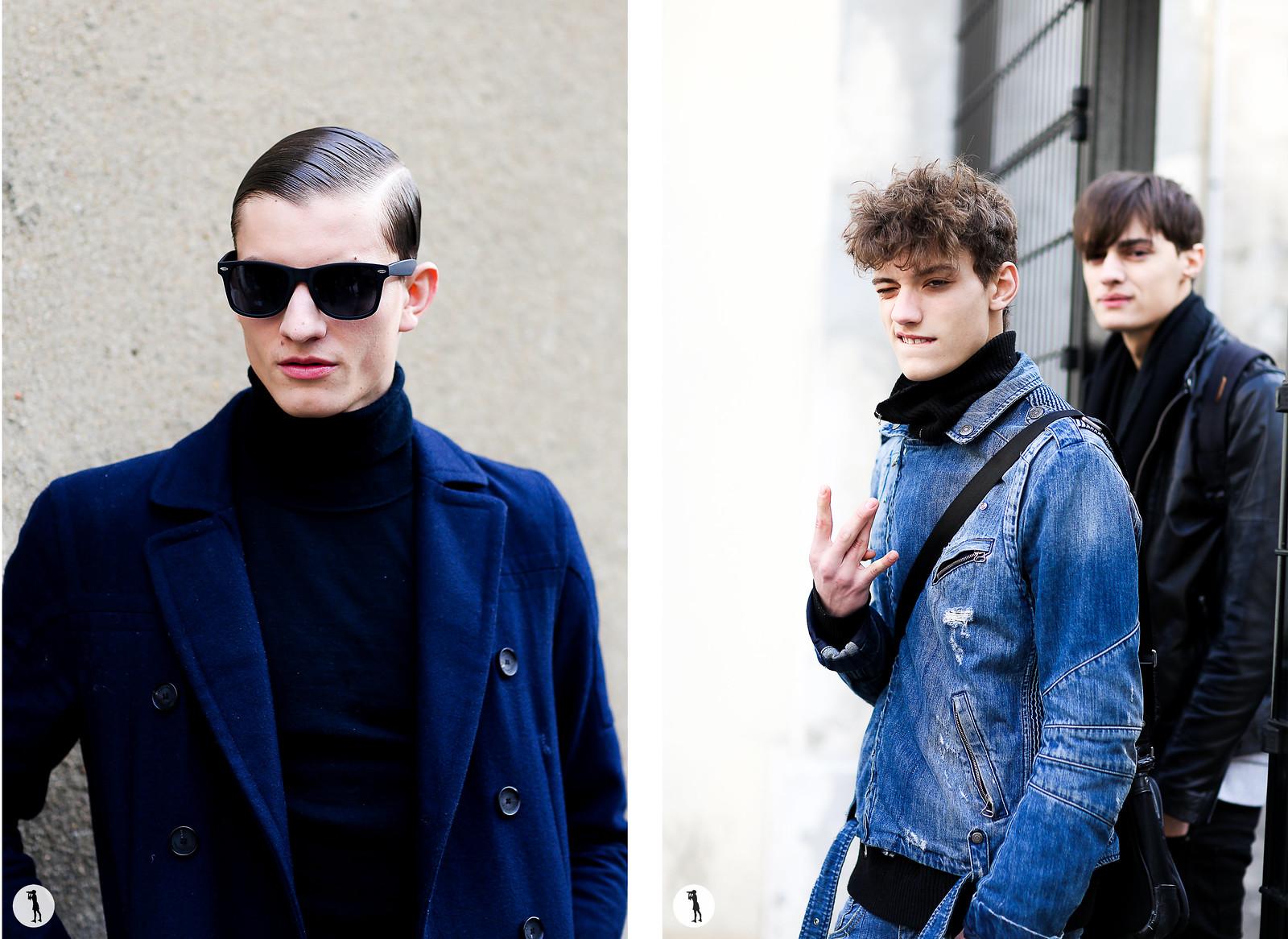 Street style - Paris fashion week Menswear FW15-16