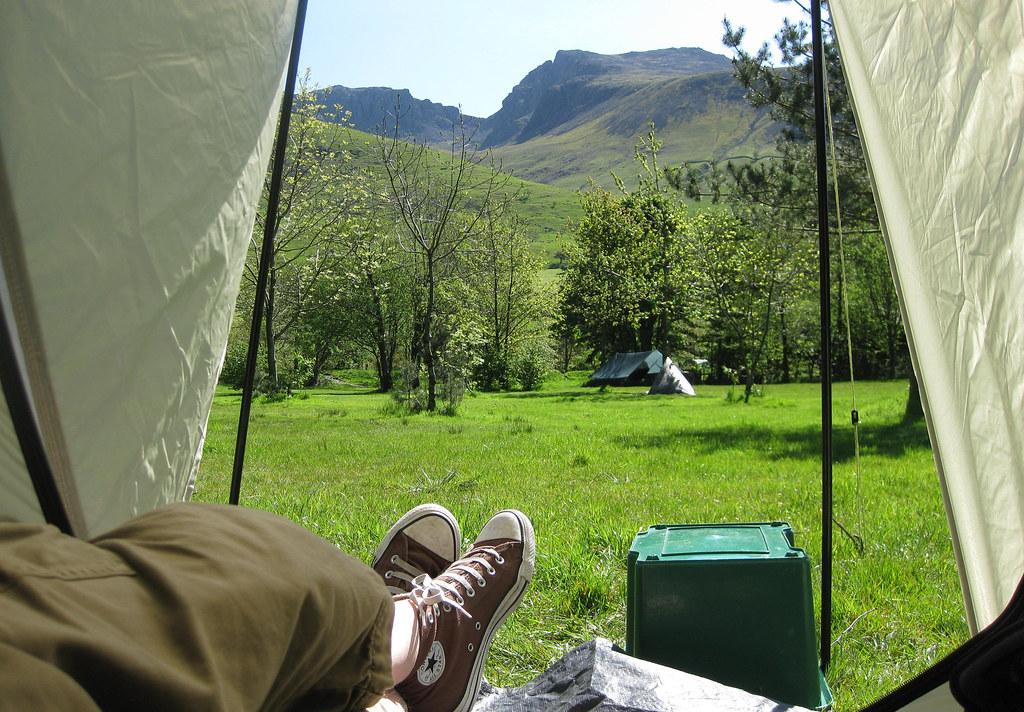 Morning tent