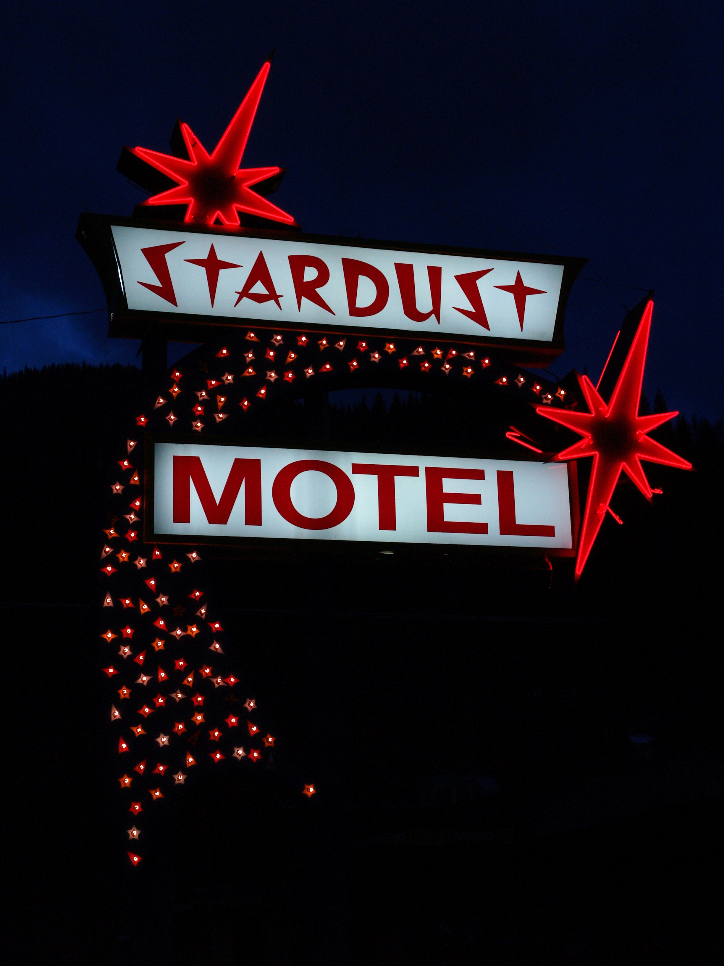 Stardust Motel - 410 Pine Street, Wallace, Idaho U.S.A. - March 17, 2008