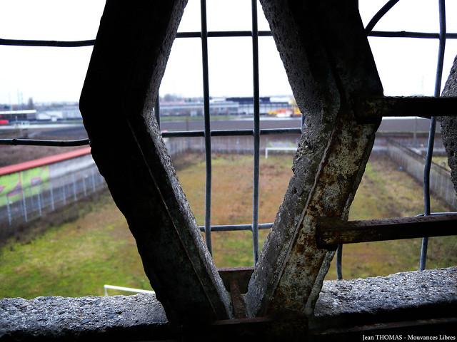 vu par la fenêtre de la prison