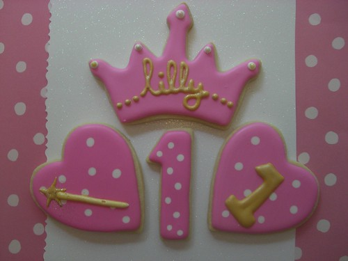 Princess cookies | by Ellie's Bites Decorated Cookies