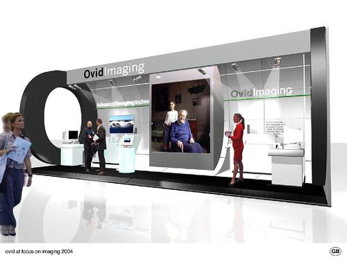 D Exhibition Booth Design : Ovid exhibition booth design graham black flickr