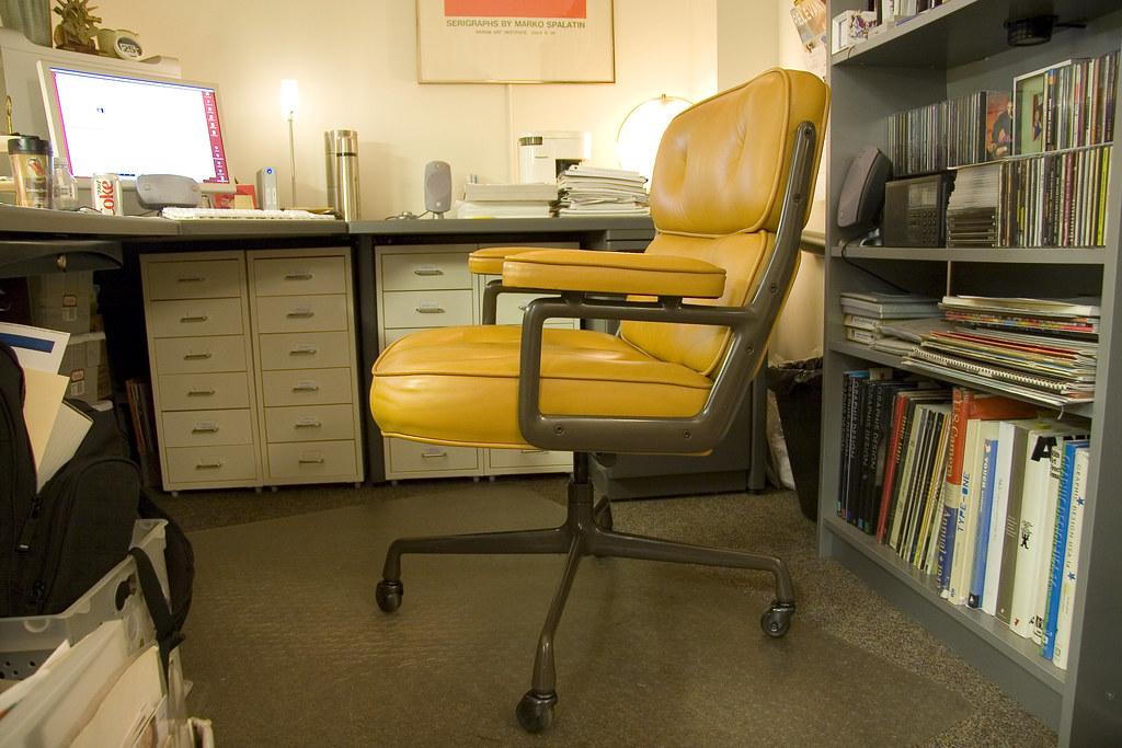 Eames Time Life Executive Work Chair 2   Shots around the of    Flickr. Eames Executive Work Chair. Home Design Ideas