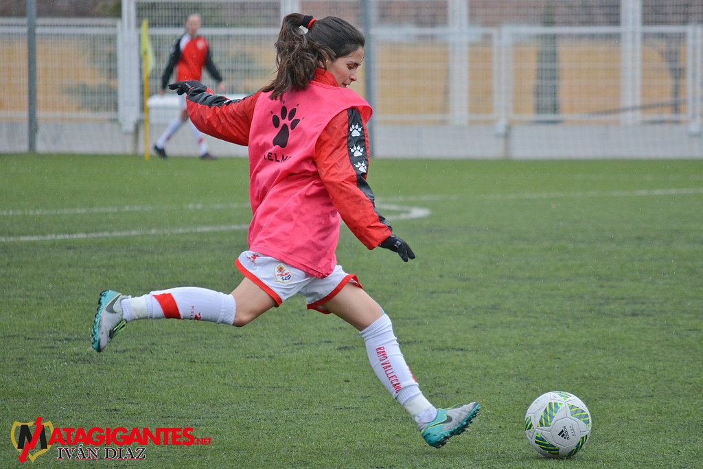 "Rayo Femenino ""B""-Madrid CFF"