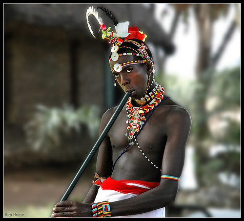 Maasai Music | by Ben Heine