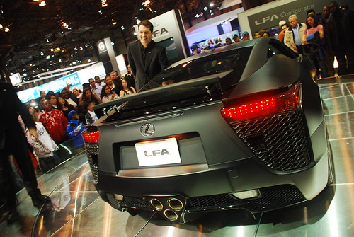 LFA - Carbonite body, matte finish | by sreevishnu