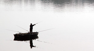 Fishing at Blenhiem | by wit