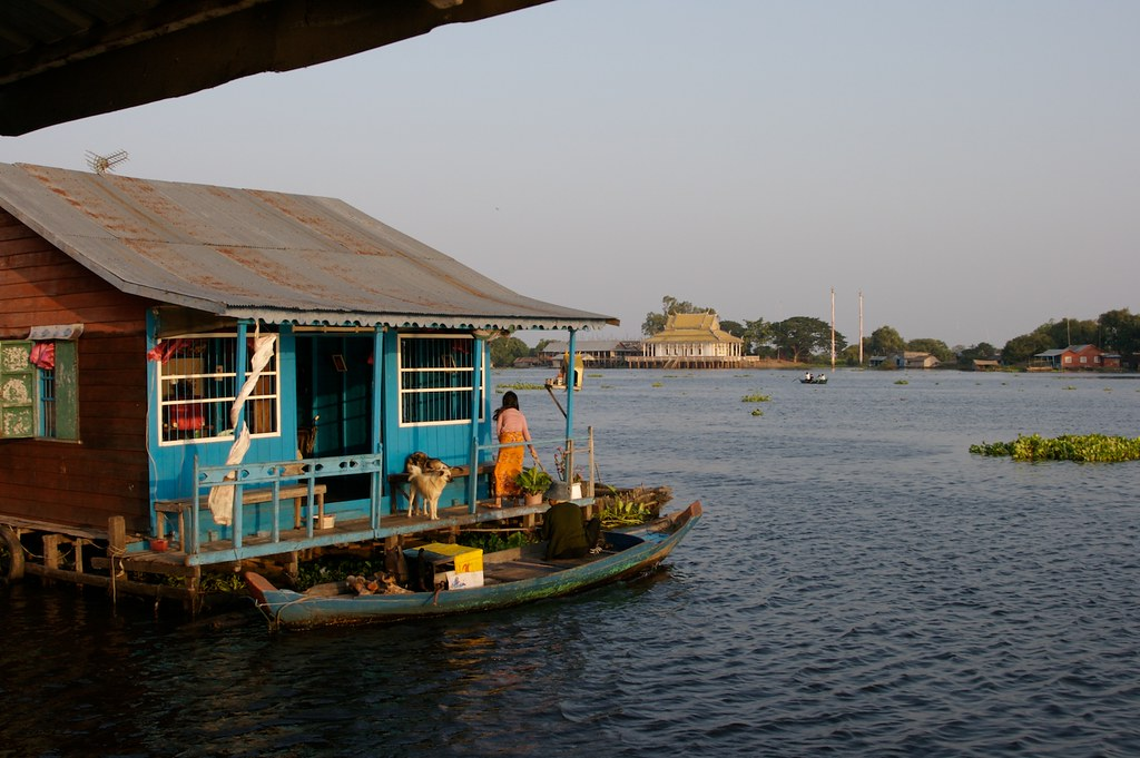 House Boat House Boat In Preak Toal Cambodia Rainer