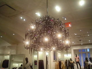 Chandelier in Saks Fifth Avenue | by Mark_Baratelli