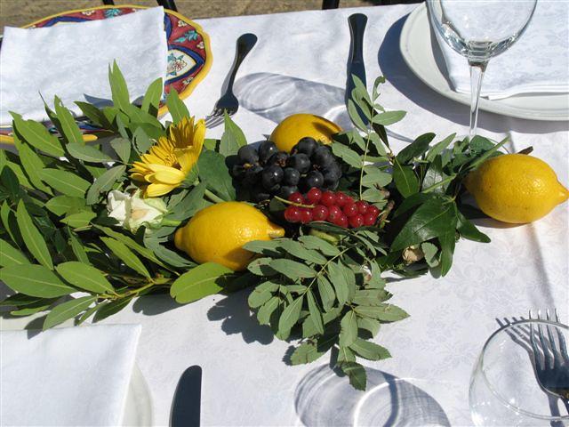Passion Fruit Wedding Cake