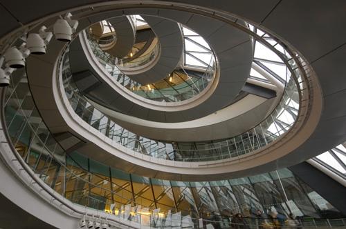 Gla Building Spiral Staircase London Shot Taken Inside