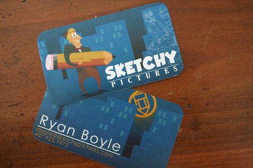 New Business Cards! | by sketchy pictures