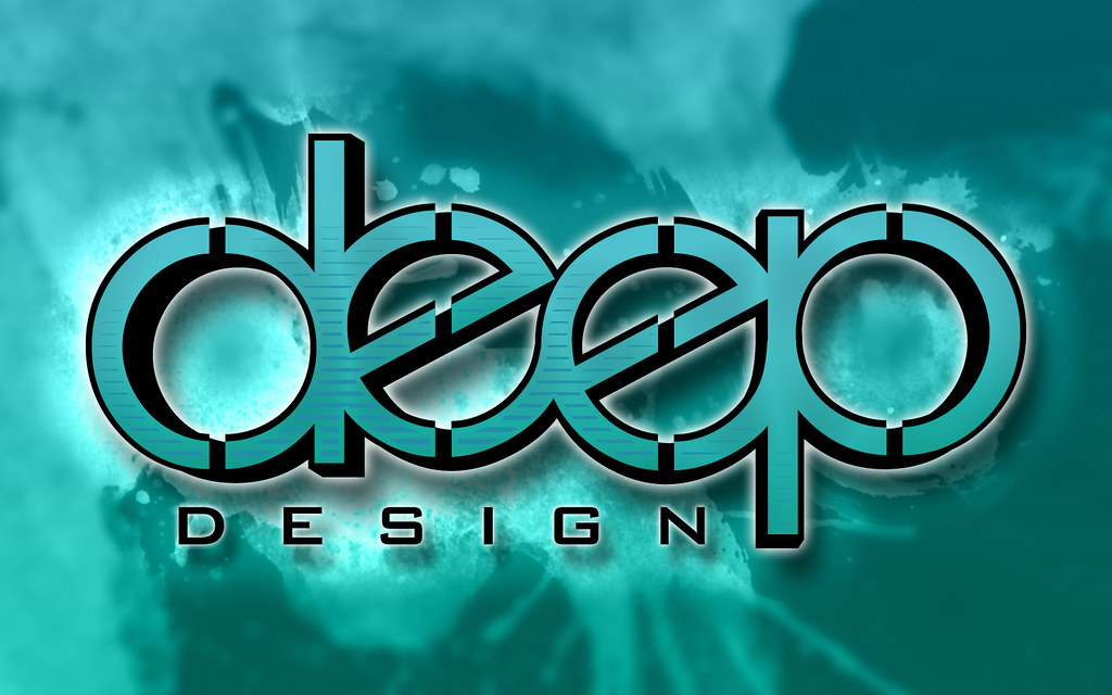 deep design wallpaper finally decided on a logo made this flickr