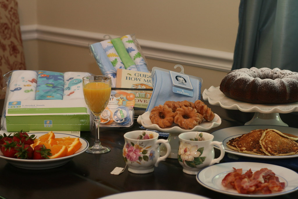 Racheals Breakfast Baby Shower Foodlibrarian May Flickr
