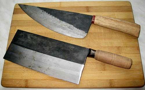 professional chinese carbon steel butcher knife vegetabl flickr. Black Bedroom Furniture Sets. Home Design Ideas