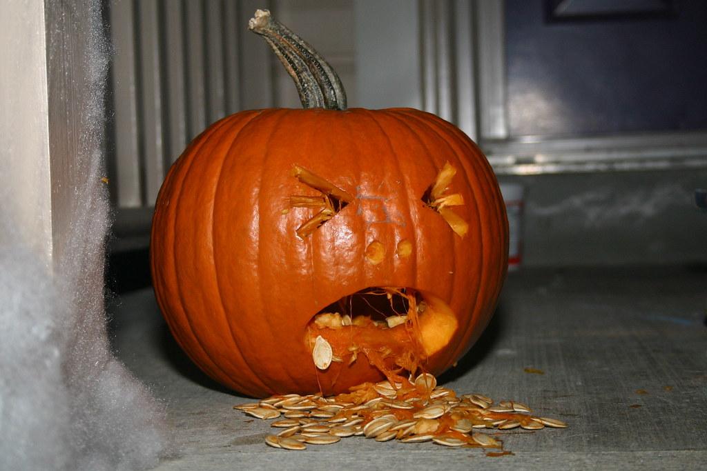 One sick pumpkin steve easterbrook flickr