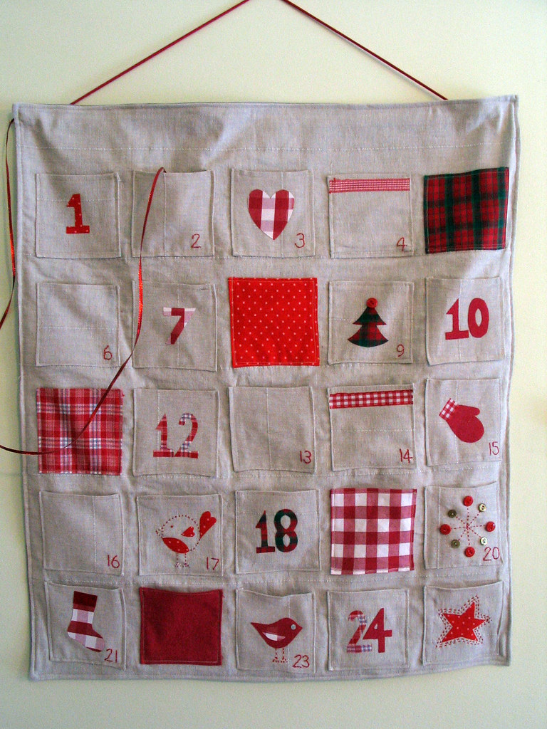 Advent Calendar Handmade : Advent calendar homemade linaloo