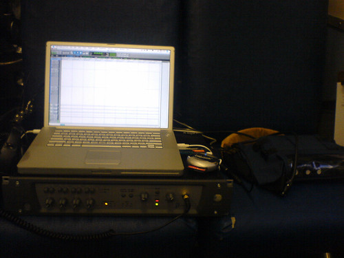 ProTools on a Train | by Evanzan