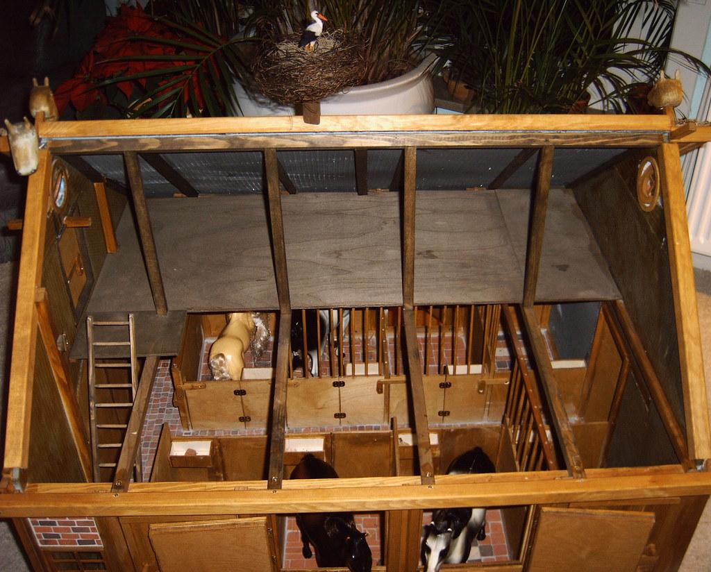 pferdestall f r barbie storchennest das heu und stroh wu flickr. Black Bedroom Furniture Sets. Home Design Ideas
