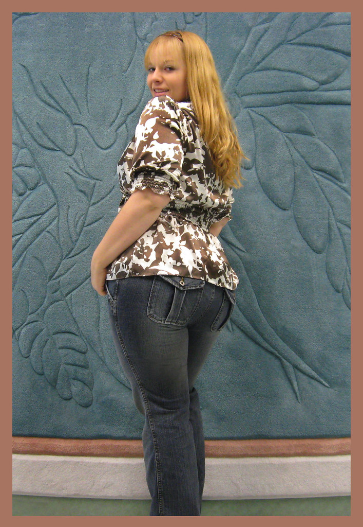 Bbw in some jeans