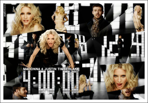 "Video HD Clip's"": Madonna - 4 Minutes - Behind the Scenes"