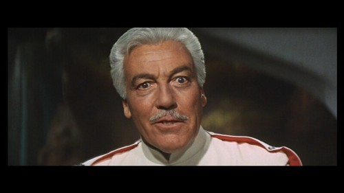 Cesar Romero as Malic in LATITUDE ZERO