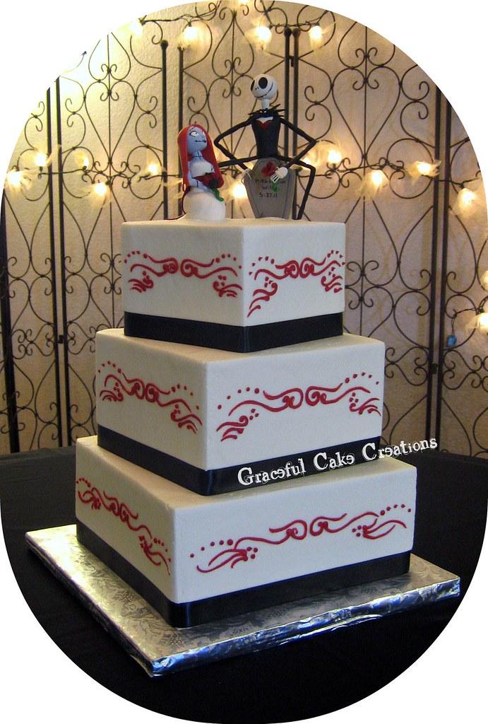 Nightmare Before Christmas Wedding Cake Grace Tari Flickr
