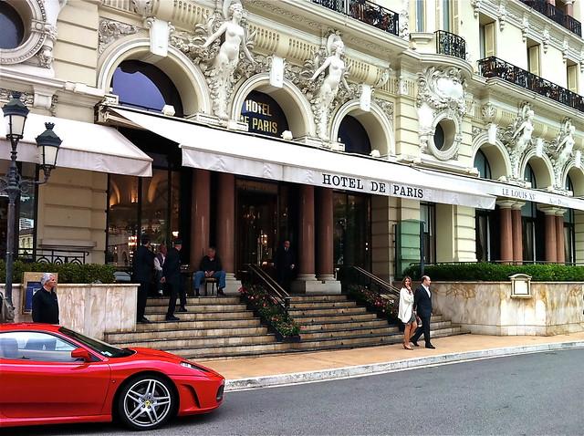 Monaco monte carlo hotel de paris grand prix photo for Prix hotel france