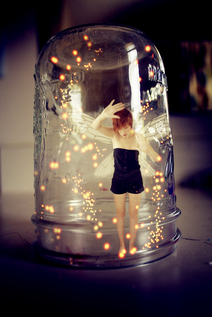 Trapped Inside A Fairy Jar 149 365 Peter Pan Inspired Of