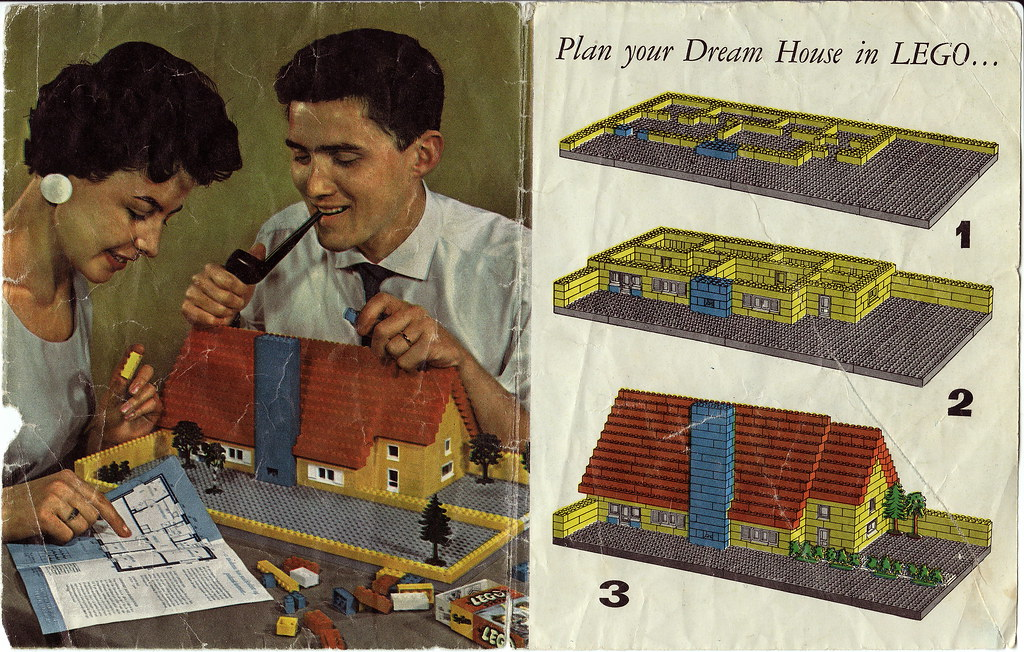 Gas Station For Sale >> 1960's lego ad | found this ad in a box of legos bought at a… | Flickr