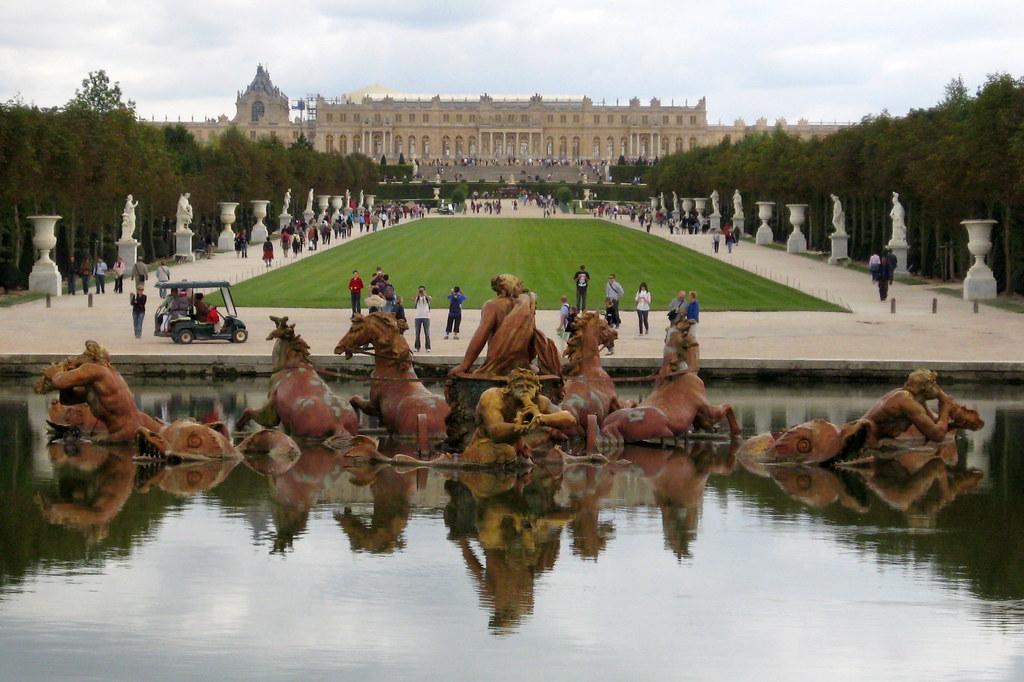 Versailles jardins du ch teau de versailles bassin d 39 ap for Jardin chateau de versailles