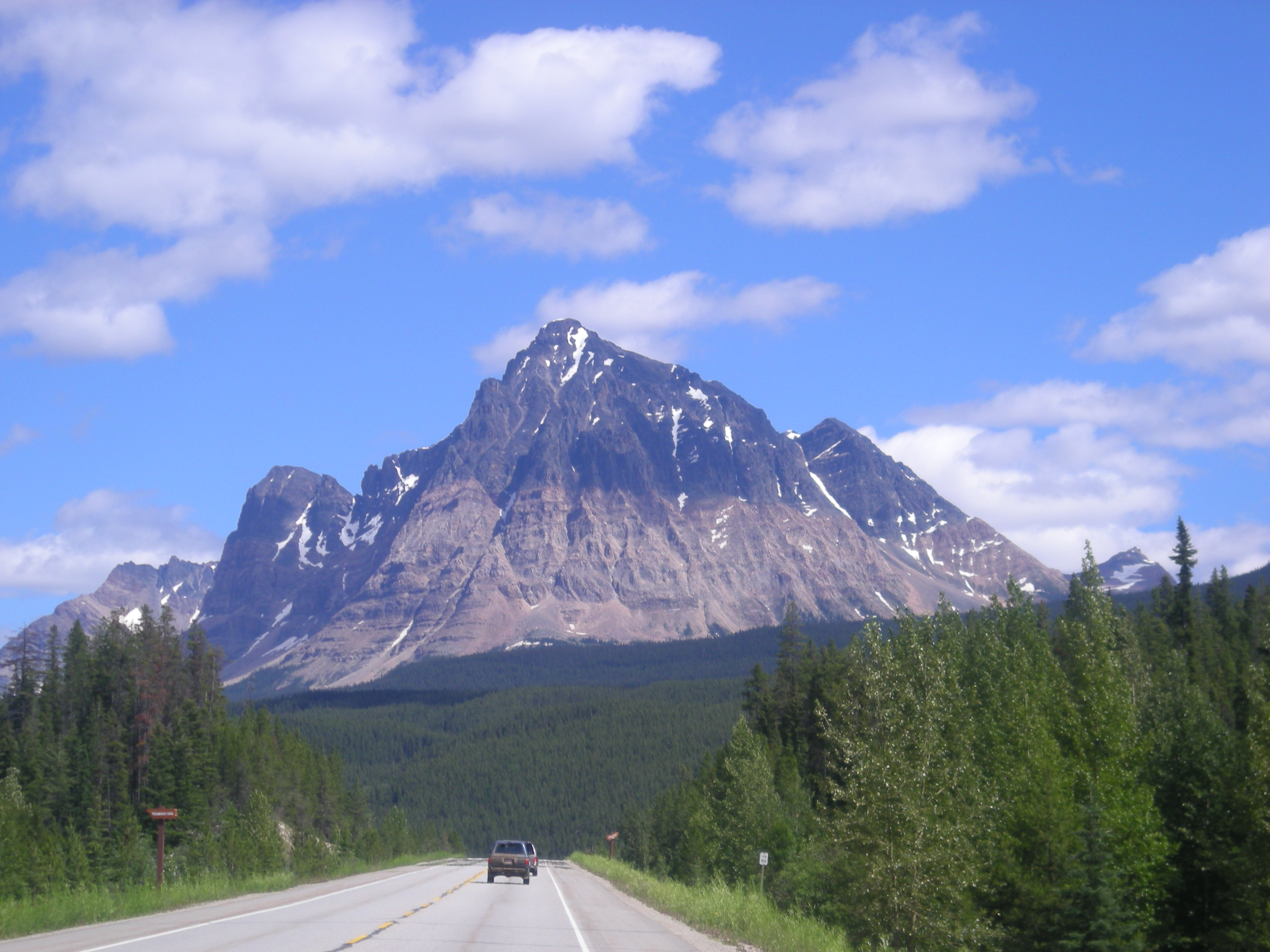 Mt Robson, Canadian Rocky Mountains