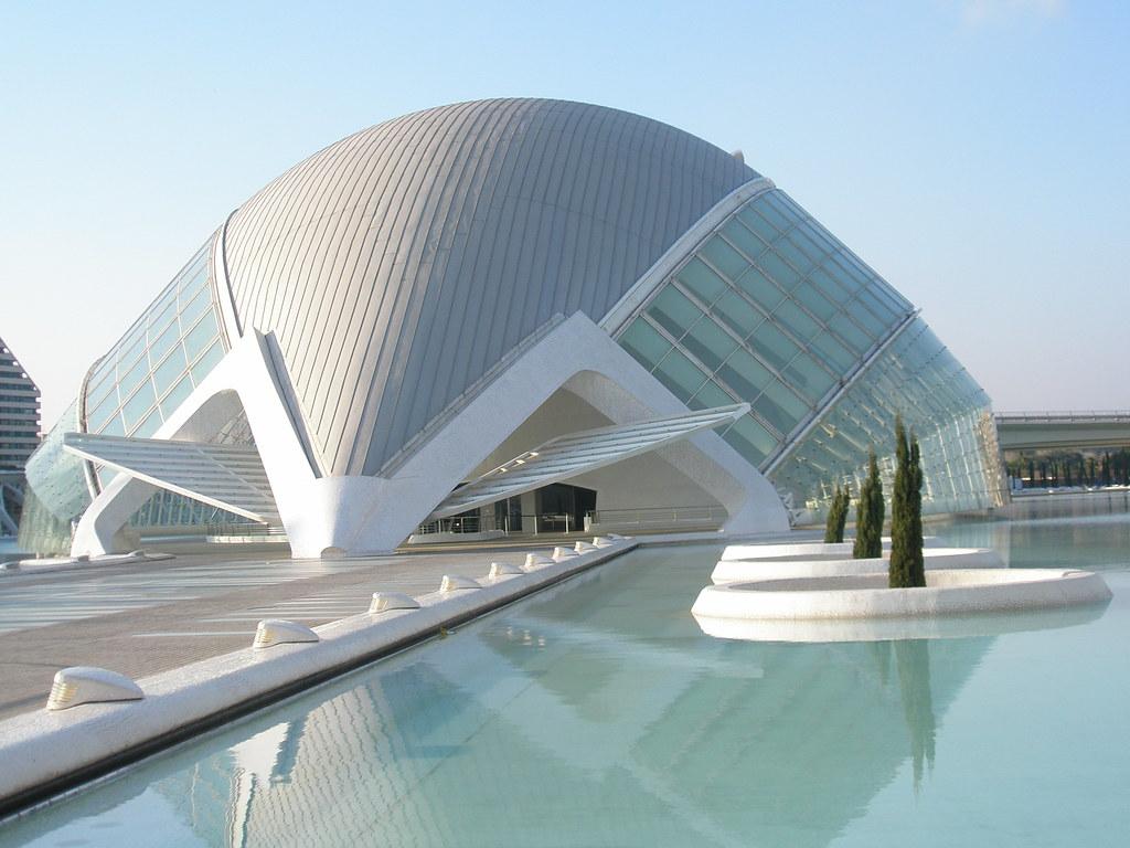 Hemisf rico ciudad de las artes y ciencias arquitecto sa for Arquitectos valencia