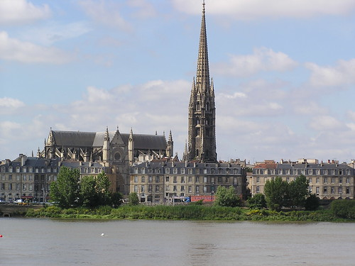 France, Bordeaux, Saint-Michel from the Garonne | by hdes.copeland