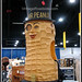 Vintage 1940s Mr. Peanut costume