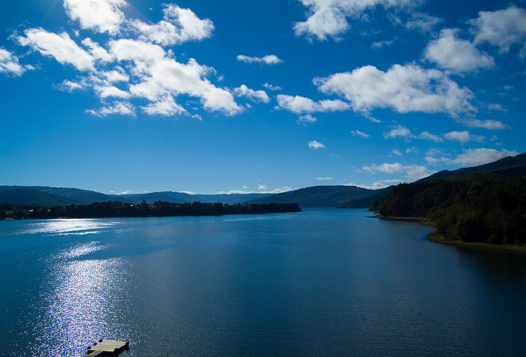 Lago Lanalhue  Chile  El Lago Lanalhue, Mapudungun -2363