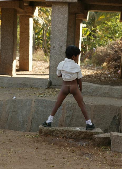 A School Boy Takes A Pee At Reccess  Adam Katz  Flickr-2084