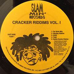 NUBIAN CRACKERS:CRACKER RIDDIMS VOL.1(LABEL SIDE-A)