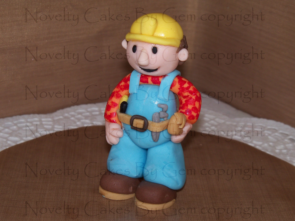 Bob The Builder Cake Topper Come Find Me On My Facebook