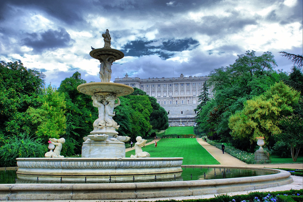 Madrid jardines del campo del moro el campo del moro es flickr - Jardines palacio real madrid ...