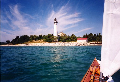 Kayaking to South Manitou Island | by cedarkayak
