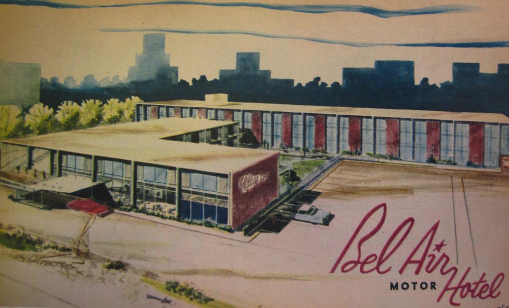 Bel Air Motel Ad | Michael Allen | Flickr