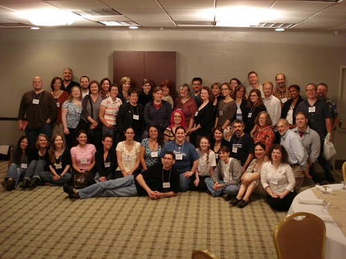 The Kidlit Conference family photo | by Mark Blevis