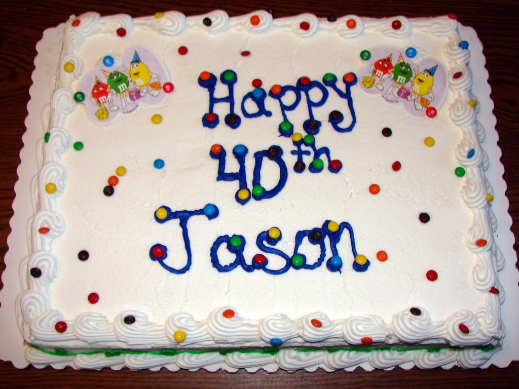 Happy Birthday Jason Cake Images
