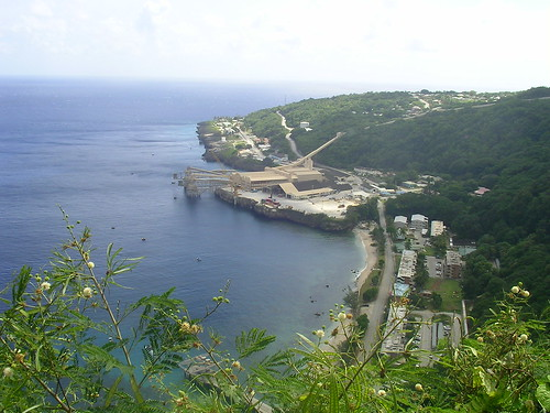Flying fish cove christmas island with the now almost for Flying fish cove christmas island