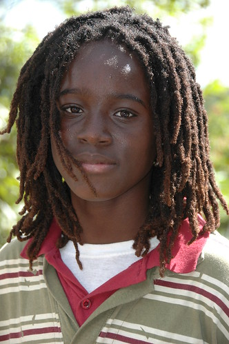 Young dreadlocks | This young boy was taking in the ...